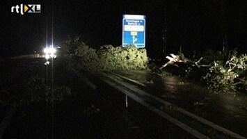 RTL Nieuws Schade door eerste herfststorm