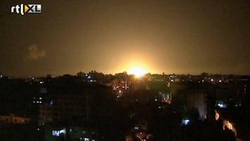 RTL Nieuws Bommen vallen op Gazastrook