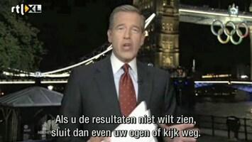 RTL Nieuws Amerika 'bewaart' beelden Spelen tot de avond