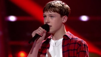 The Voice Kids: Rogier - The Last Time (fragment)