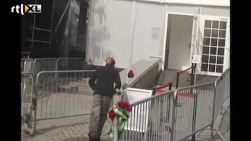 RTL Nieuws Man steekt zich in brand bij Breivik-proces