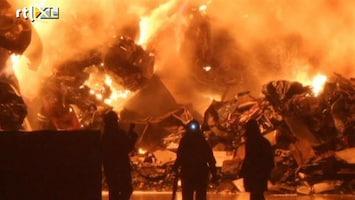 RTL Nieuws Oude VW-fabriek uitgebrand