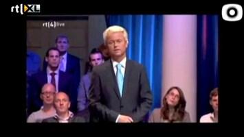 Editie NL Geert Wilders wordt gepest tijdens debat