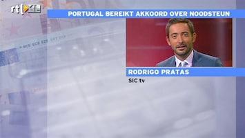 RTL Z Nieuws Portugese journalist Pratas: onzekerheid in Portugal over driejarige noodsteun