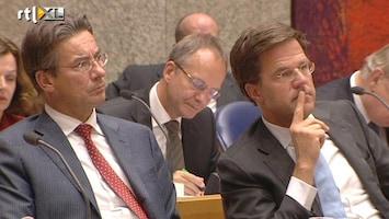 RTL Nieuws 'Recessie en dus meer bezuinigen'