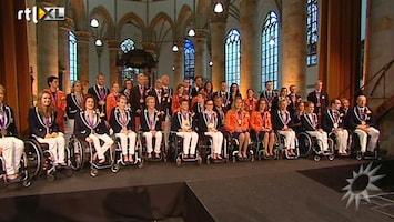 RTL Boulevard Huldiging Paralympische Spelen