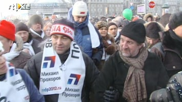 RTL Nieuws Massale protesten in Rusland