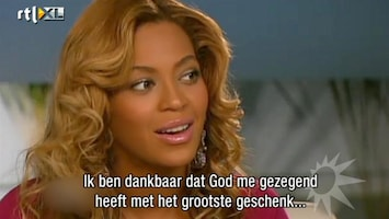RTL Boulevard Beyoncé openhartig in interview