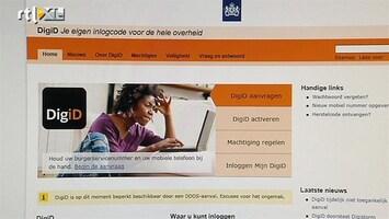 RTL Nieuws Weer cyberaanval op DigID