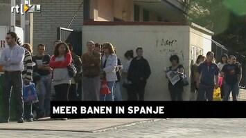 RTL Z Nieuws 14:00 Werkloosheid is flink probleem in Spanje en de VS