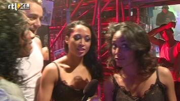 The Ultimate Dance Battle Team Laurent baalt van het commentaar