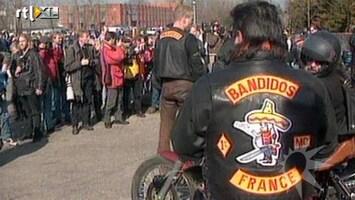 RTL Boulevard Politie alert op rivaliserende motorclubs