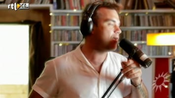 RTL Boulevard Robbie Williams making of nieuw album