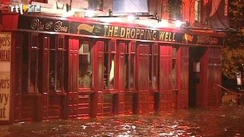 RTL Nieuws Wolkbreuk zet Dublin onder water
