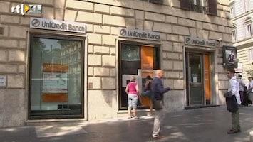 RTL Nieuws Zorgen om hoge rente Italië en Spanje