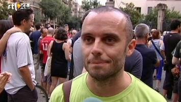 RTL Nieuws 'We willen geen regering die vol zit met criminelen'