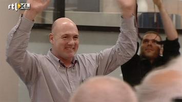RTL Nieuws André Kuipers als held onthaald op Schiphol