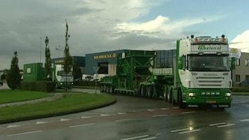 RTL Transportwereld Bouw van recyclinginstallatie