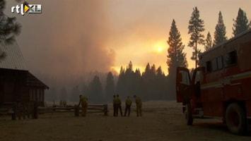 RTL Nieuws Jager veroorzaakte brand Yosemite