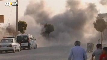 RTL Nieuws Turkije neemt Syrië weer onder vuur