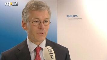RTL Z Nieuws Verkoop tv-activiteiten Philips is goede actie