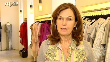 RTL Boulevard Liz Snoijink past trouwjurk