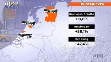 RTL Nieuws Bus en tram veel duurder door OV-chipkaart