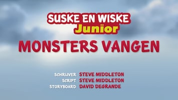 Suske En Wiske Junior Monsters vangen