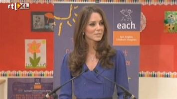 RTL Boulevard De eerste echte speech van Kate Middleton