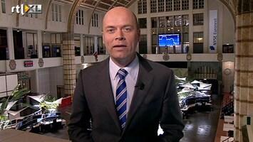 RTL Z Nieuws 17:30: AEX hard omlaag, euro sterker op geruchten renteverhoging ECB