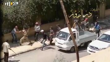 RTL Nieuws Syrische marine beschiet Latakia