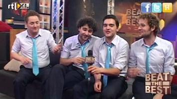 Beat The Best Backstage met de Jukeboxboys