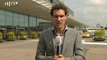 RTL Nieuws Verslaggever op Schiphol: Sirenes te horen