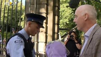 RTL Nieuws Bloemetjes voor koninklijke familie