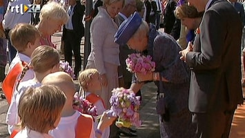 RTL Nieuws Beatrix enthousiast onthaald in Veenendaal