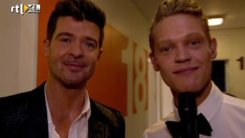 X Factor Ferry exclusief met Robin Thicke