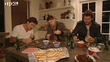 RTL Boulevard Jeroen van de Boom wakker voor shoarma
