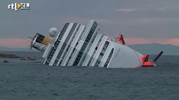 RTL Nieuws Grotonderzoekers doorzoeken Costa Concordia