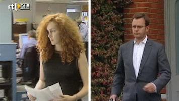 RTL Nieuws Brooks en Coulson aangeklaagd in afluisterschandaal