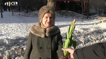 RTL Nieuws Bloemen voor alle Russische vrouwen