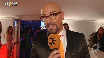 RTL Boulevard Maik de Boer op chic netwerkevenement