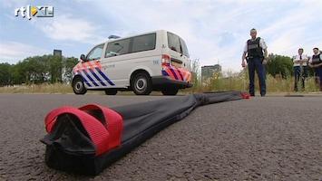 RTL Nieuws Politie gaat door met spijkermat