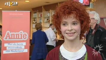 RTL Boulevard Persdag musical Annie