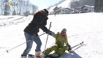 Oh Oh Tirol Skitip 5: Little Princess plukt Barbie uit de sneeuw