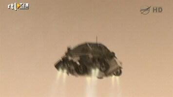 RTL Nieuws Zo landde de Mars Curiosity op de rode planeet