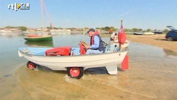 RTL Nieuws Grasmaaier wordt amfibievoertuig