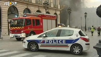 RTL Nieuws Ritz Parijs ontruimd om brand