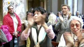 RTL Nieuws Argentijnen in extase na verkiezing 'hun' paus