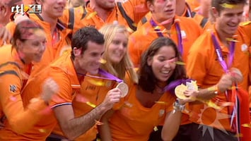 RTL Boulevard De Olympische atleten terug in Nederland