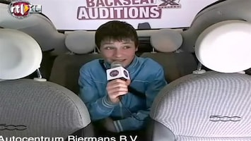 X Factor Fiat 500 Backseat Audition: Andre